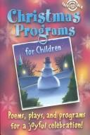 Christmas Programs for Children by Pat Fittro