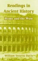 Readings in Ancient History by William S. Davis