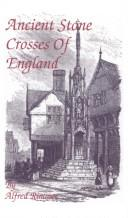 Ancient stone crosses of England PDF