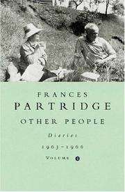 Other People by Frances Partridge