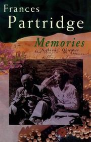 Memories by Frances Partridge