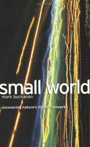 Small World by Mark Buchanan