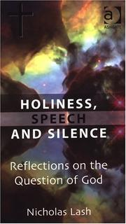 Holiness, Speech and Silence PDF