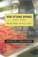 How Ottawa Spends 2003-2004 PDF