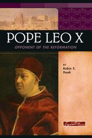 Cover of: Pope Leo X by Robin S. Doak