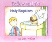 Holy Baptism (Follow and Do) PDF