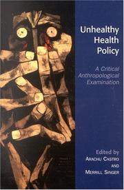 Unhealthy Health Policy PDF