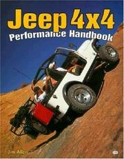 Cover of: Jeep 4X4 performance handbook by Allen, Jim