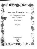 London Cemeteries by Hugh Meller