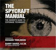 The Spycraft Manual by Barry Davies