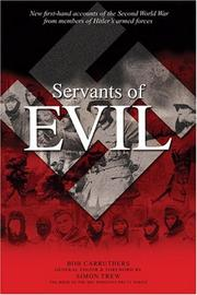 Servants of Evil by Bob Carruthers