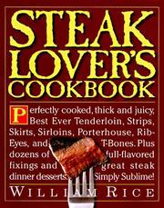 Steak lover's cookbook PDF