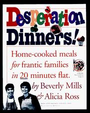 Desperation dinners! PDF