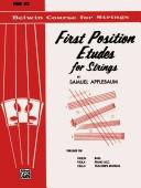 First Position Etudes for Strings, Level 2 (Belwin Course for Strings) PDF