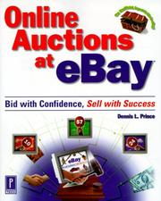Online auctions at eBay by Dennis L. Prince