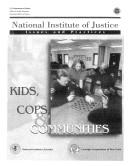 Kids, COPS, and communities by Marcia R. Chaiken