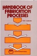 Handbook of Fabrication Processes (06401G) PDF