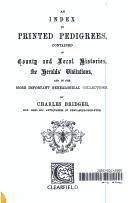 An Index to Printed Pedigrees PDF