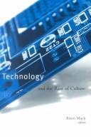 Technology and the Rest of Culture PDF