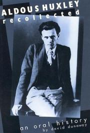 Aldous Huxley Recollected: An Oral History PDF