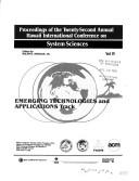 Proceedings of the Twenty-Second Annual Hawaii International Conference on System Sciences PDF