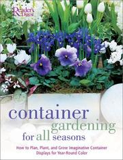 Container Gardening for all Seasons PDF