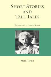 Cover of: Short Stories and Tall Tales (Courage Literary Classics) by Mark Twain