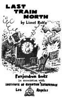 Last Train North PDF
