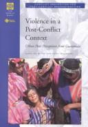 Violence in a Post-Conflict Context PDF