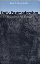 Early Postmodernism PDF