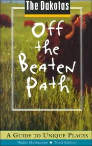 The Dakotas Off the Beaten Path PDF