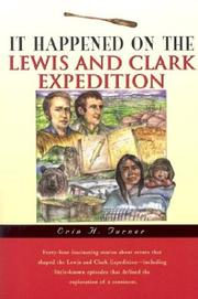 It happened on the Lewis and Clark Expedition PDF