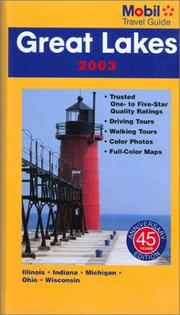 Mobil Travel Guide Great Lakes 2003 (Mobil Travel Guide Northern Great Lakes (Mi, Mn, Wi)) by Mobil Travel Guide