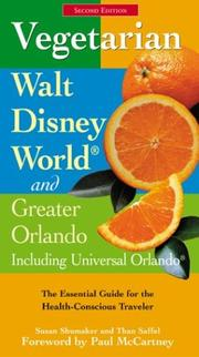 Vegetarian Walt Disney World and greater Orlando by Susan Shumaker