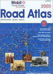 Mobil 2003 Road Atlas (Mobil Travel Guide) by Mobil Travel Guide