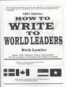 How to write to world leaders PDF