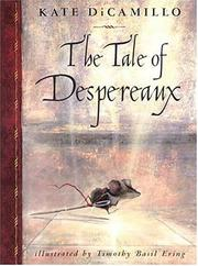 Tale of Despereaux cover