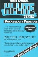 Vocabulary Program PDF