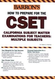 How to Prepare for the CSET PDF