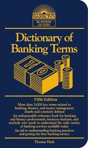 Dictionary of banking terms PDF