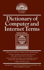 Dictionary of computer and Internet terms PDF