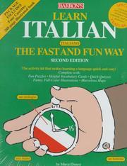 Learn Italian (Italiano) the fast and fun way PDF