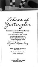 Echoes of yesterday PDF
