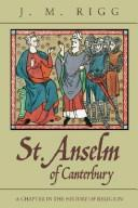 St. Anselm of Canterbury by J. M. Rigg
