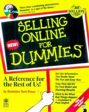 Selling online for dummies PDF