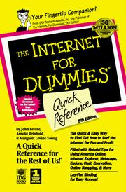 The Internet for dummies quick reference PDF