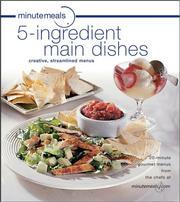 minutemeals 5-ingredient Main Dishes Cookbook PDF