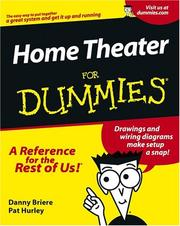 Home theater for dummies by Daniel D. Briere