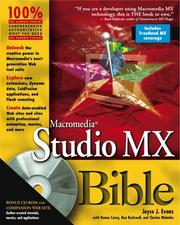 Macromedia Studio MX bible PDF