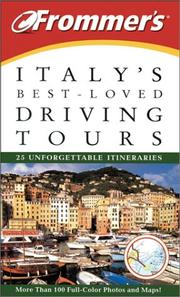 Frommer's Italy's Best-Loved Driving Tours PDF